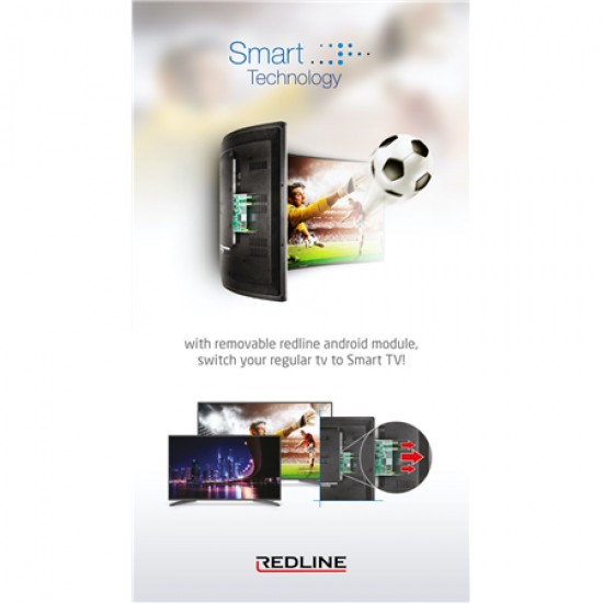 REDLİNE 43 İNÇ FULL HD LED TV