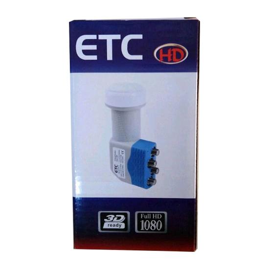 ETC Full HD 4'LÜ LNB