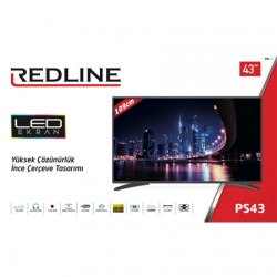 REDLİNE 43 İNÇ FULL HD LED TV
