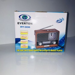 Everton RT-306 Nostaljik Bluetooth Radyo