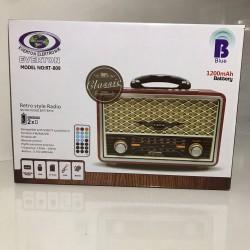 Everton RT-809 Nostaljik Bluetooth Radyo