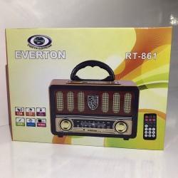 Everton RT-861 Nostaljik Bluetooth Radyo