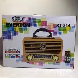 Everton RT-864 Nostaljik Bluetooth Radyo